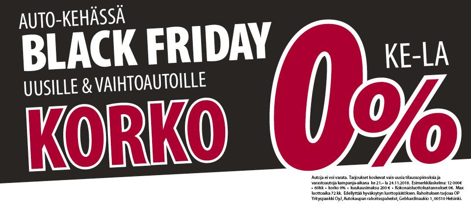 Auto-Kehässä BLACK FRIDAY 21.-24.11.