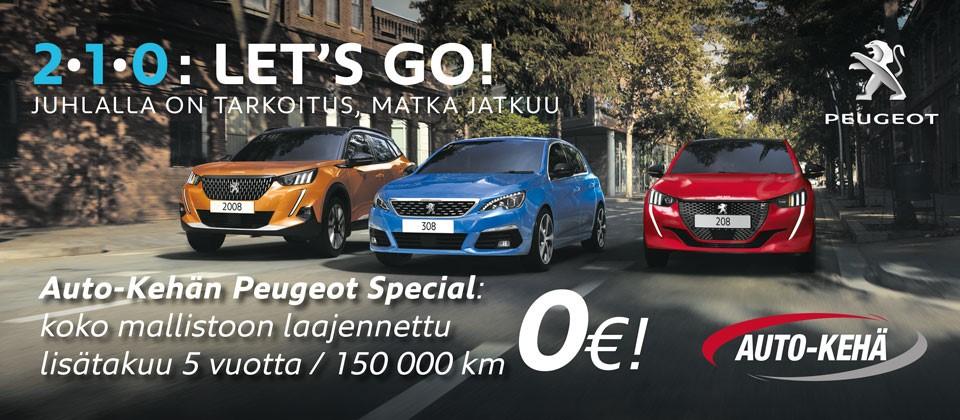 Peugeot Special jatkotakuu